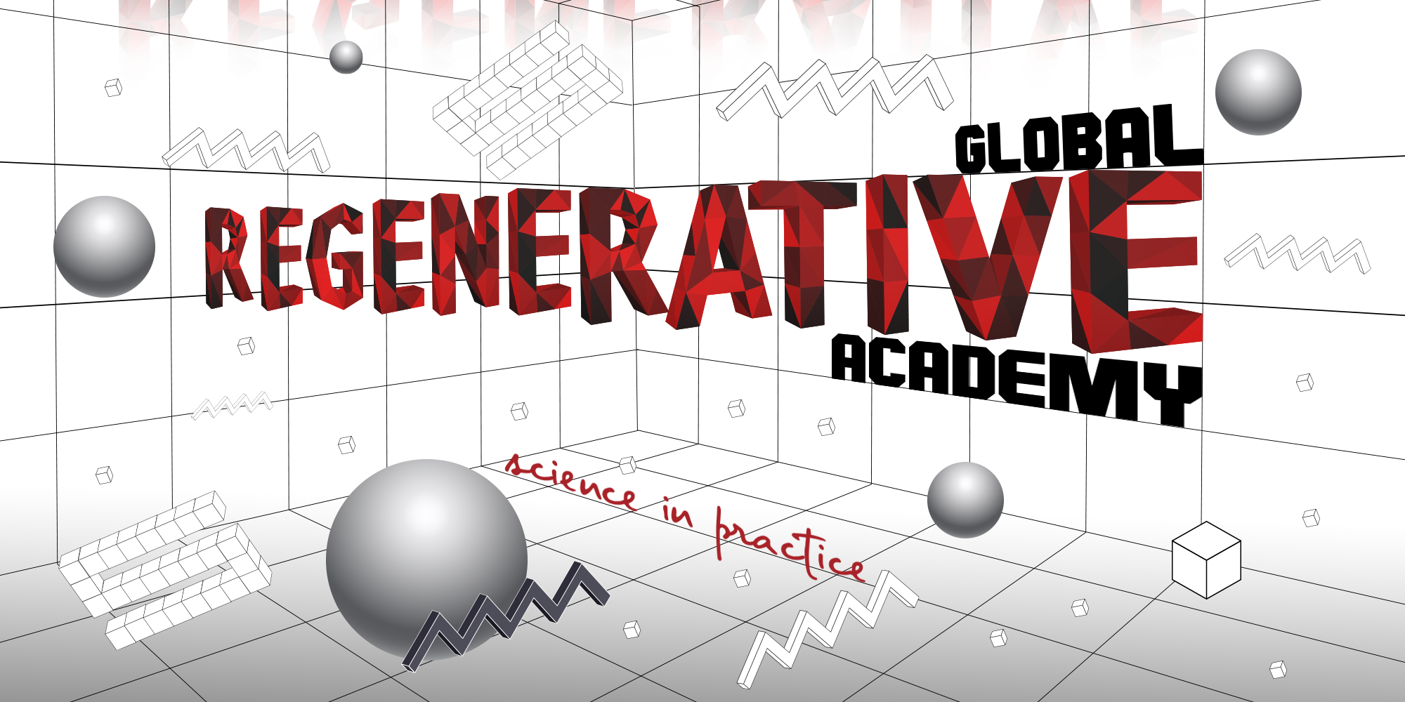 3 dimensional image about global regenerative academy