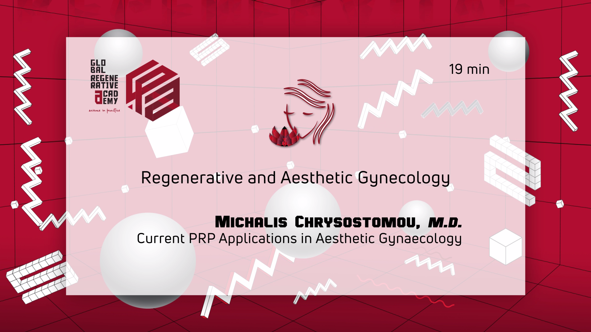M.D. Michalis Chrysostomou – Current PRP Applications in Aesthetic Gynaecology