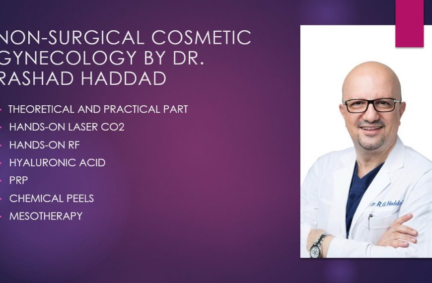 Non Surgical Cosmetic Gynecology by Dr. Rashad Haddad